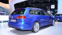 Volkswagen Golf Sportwagen concept at 2014 New York Auto Show