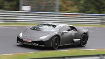 Lamborghini Cabrera spy photo 27.09.2013