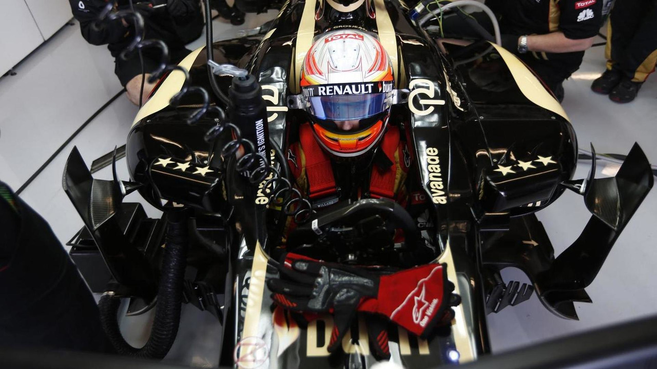 Romain Grosjean 17.11.2013 United States Grand Prix