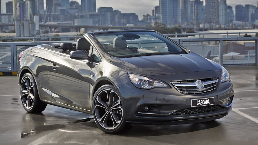 Holden Cascada heading to Australia and New Zealand next year