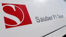 Sauber F1 Team logo 08.02.2013 Jerez Spain