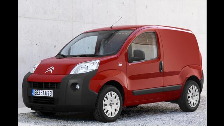 Fiat, Peugeot und Citroën zeigen ihre neuen City-Transporter