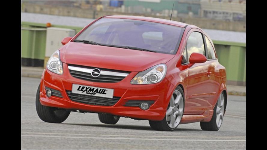 Opel Corsa GSI günstig getunt