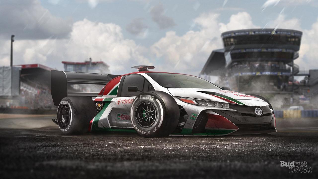 Coches de calle transformados en F1 (renders)