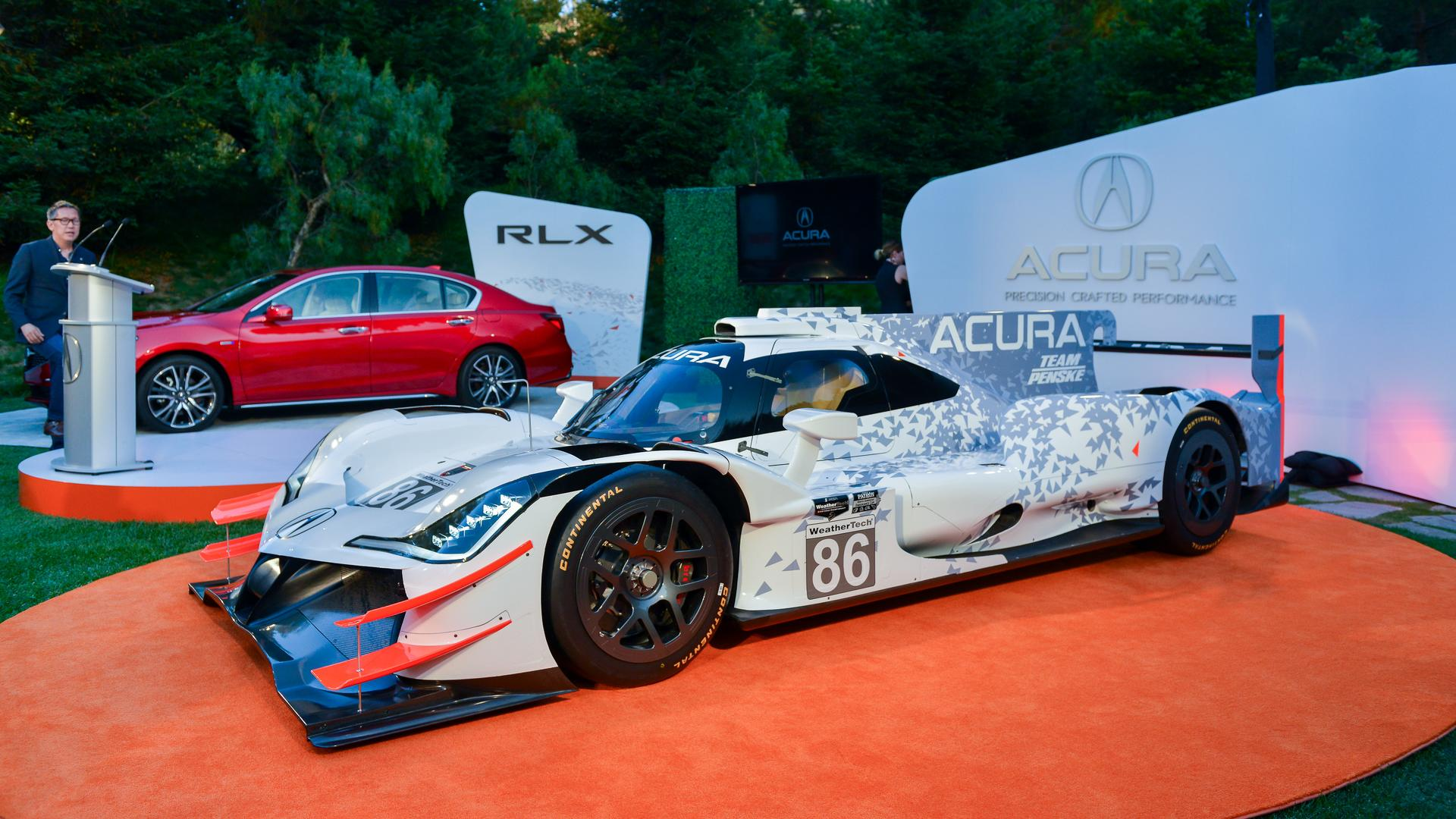 Acura ARX-05 Looks Race Ready In Monterey, Hits The Track ...