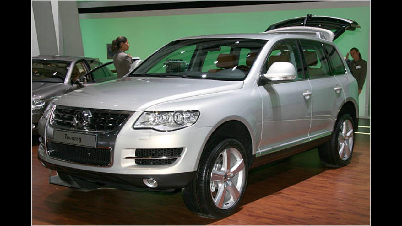VW Touareg Facelift