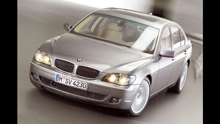 BMW 7er-Facelift: Glatt rasiert und Muskeln trainiert