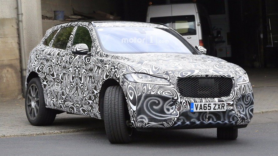 Jaguar F-Pace SVR is coming - here's proof