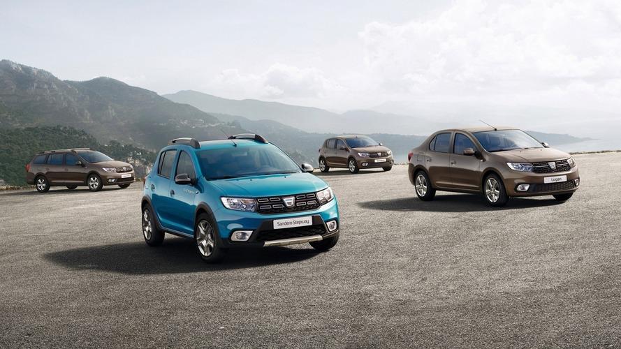 Dacia, Logan ve Sandero modellerinin yeni yüzlerini tanıttı