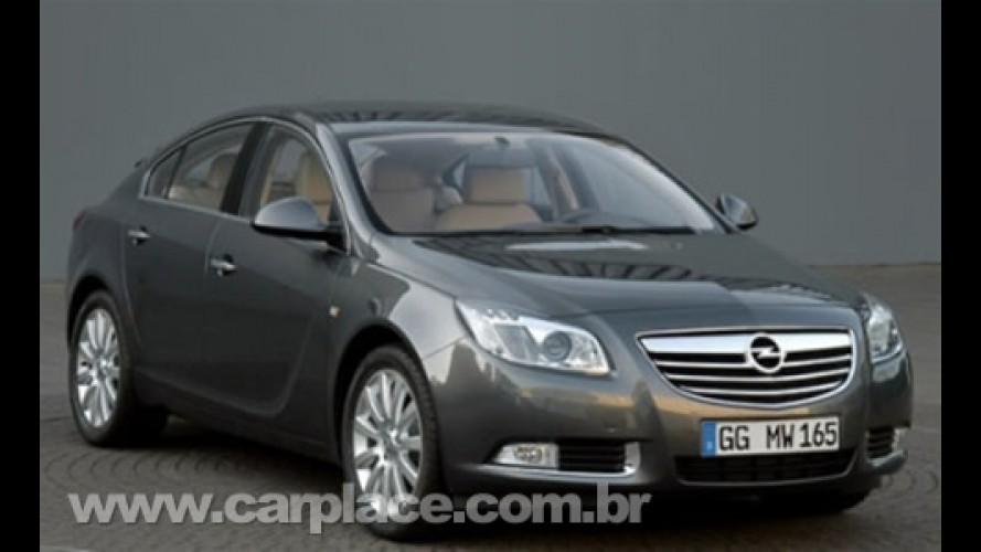 Opel Insignia 2009 - Reveladas imagens do sucessor do Vectra europeu