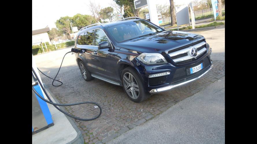Mercedes GL 350 BlueTEC, la prova dei consumi