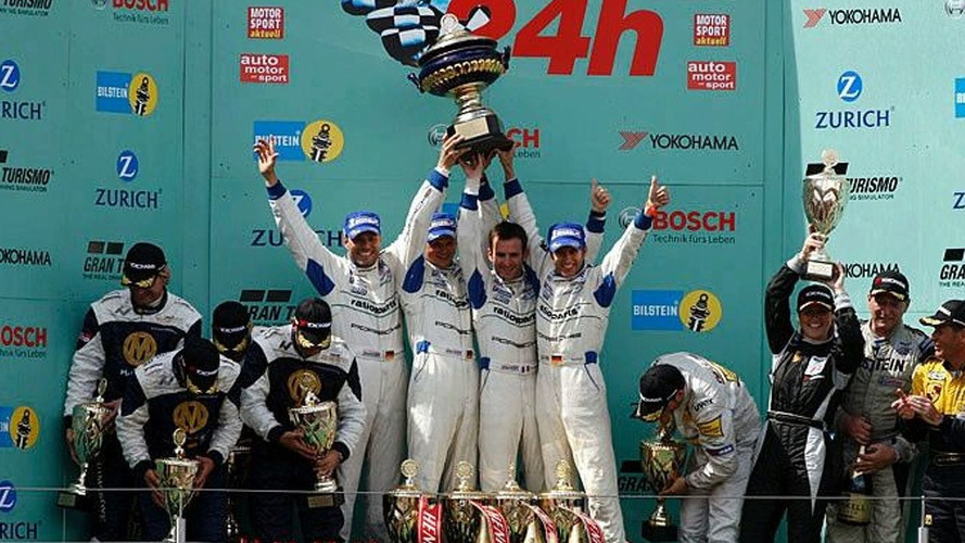 Manthey Porsche Sweeps Nurburgring 24