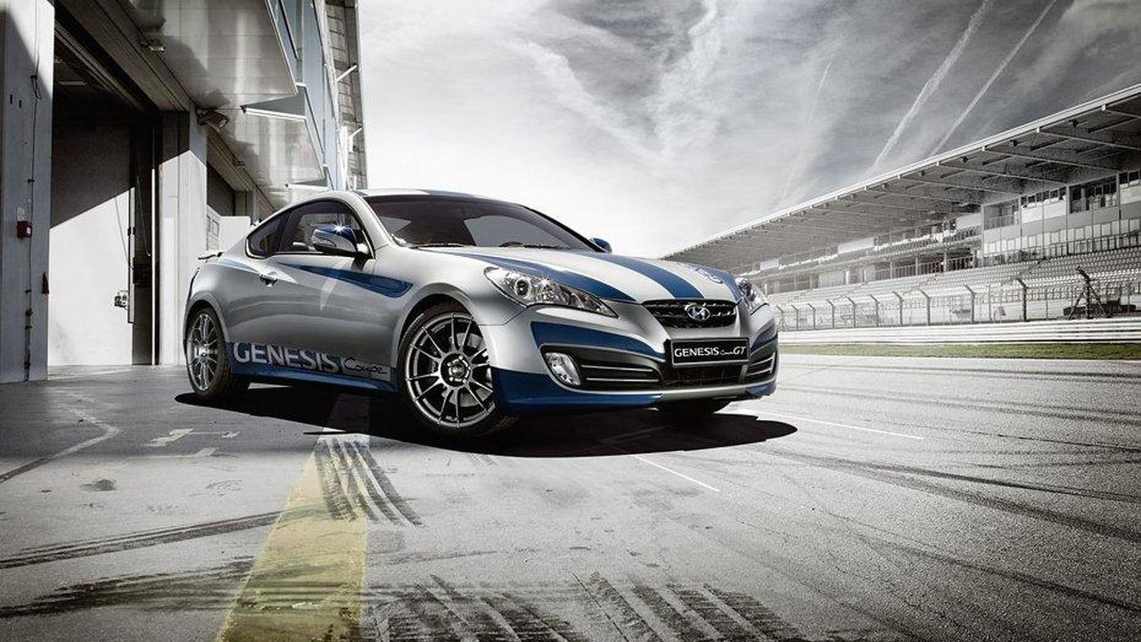 Hyundai Genesis Coupe GT limited edition for Germany 05.08.2011