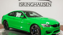 Brand new Signal Green BMW M4 costs $86,042