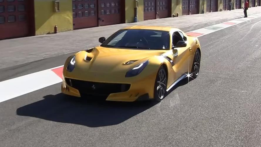 Ferrari brings a trio of F12tdf supercars to Mugello [videos]