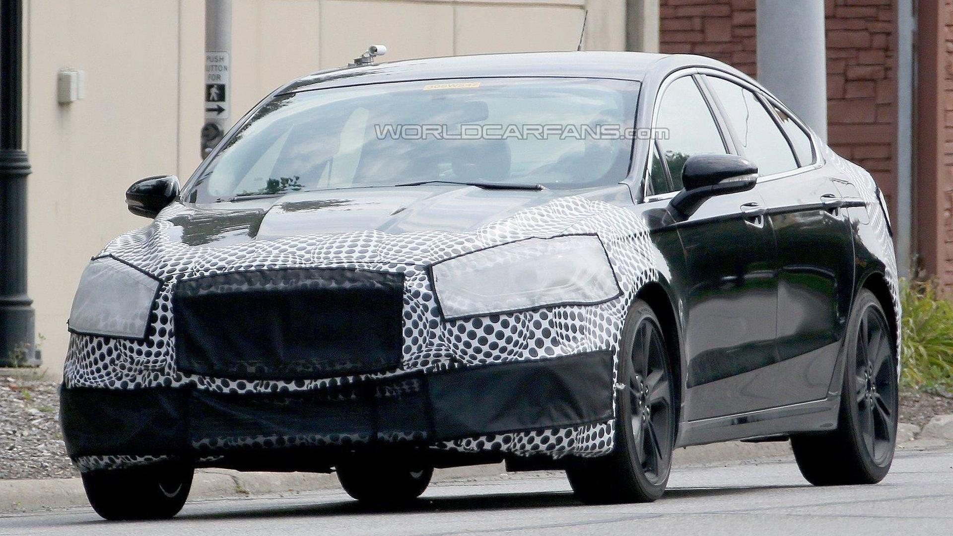 Ford Fusion ST spied could have 300 bhp