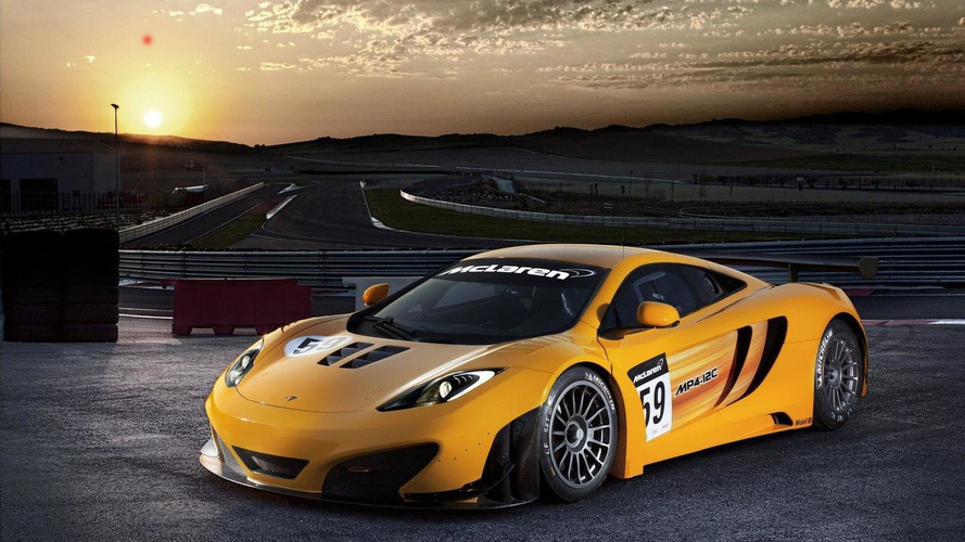 Three MP4-12C GT3's to race at 24 Hours of Spa