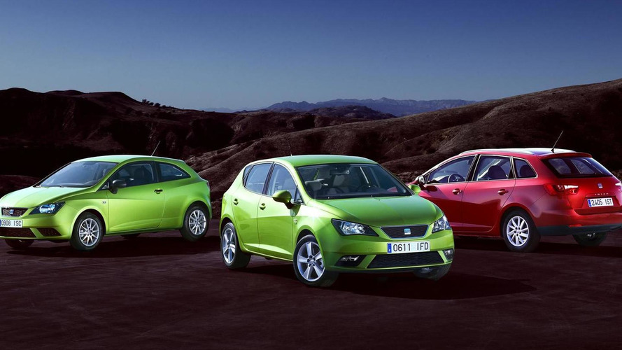 2012 Seat Ibiza Facelift revealed