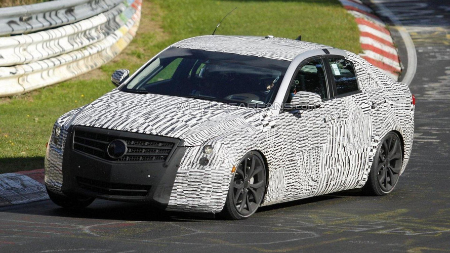 2013 Cadillac ATS spied on the Nürburgring