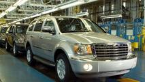 All New Chrysler Aspen Production Launch