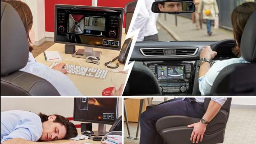 Nissan porta negli uffici la tecnologia del Qashqai
