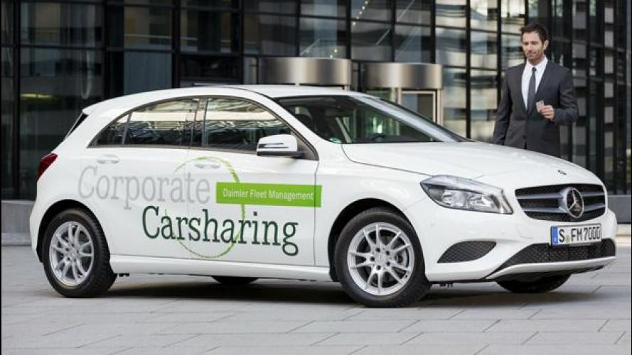 Car sharing, di moda anche per le flotte aziendali