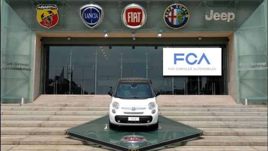 Fiat e Chrysler, da domani insieme in FCA