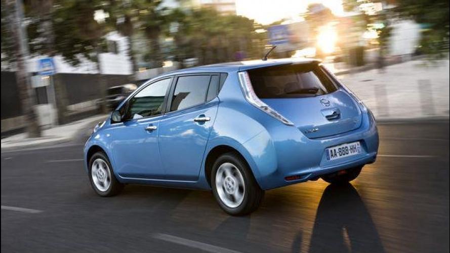10 Nissan Leaf a Milano per