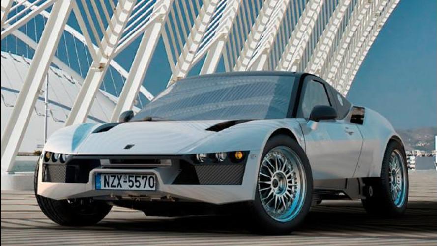 Korres Project 4: la supercar da sterrato made in Grecia