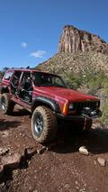 Mopar XJ Stroker, 44th annual Easter Jeep Safari in Moab, Utah, 01.04.2010