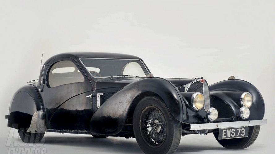 1937 Bugatti Type 57S Sells for $4.4 million at Paris Auction
