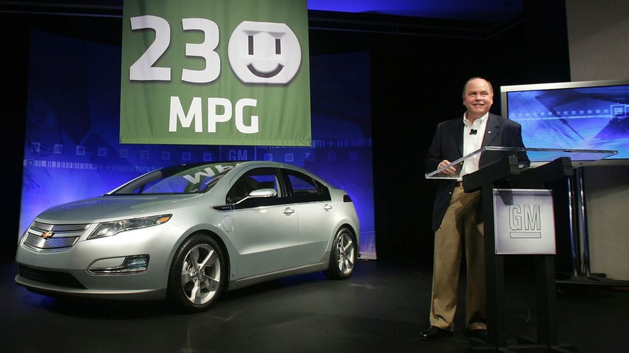 GM Confirms Chevy Volt to get 230 MPG