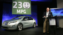 Chevrolet Volt Achieves a 230 MPG EPA City  rating