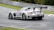 Racetrack premiere for the SLS AMG GT3 on the Nürburgring Nordschleife 28.09.2010