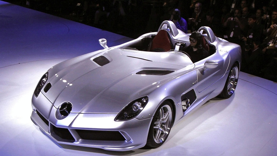 Mercedes McLaren SLR Stirling Moss Unveiled: In Detail