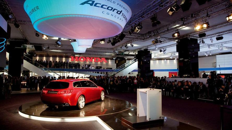 Honda Withdraws from Frankfurt Motor Show 2009