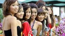 Singapore Girls, Singapore Grand Prix, Singapore City 28.09.2008