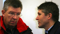 Brawn Gp Chief Executive Nick Fry & Team Boss Ross Brawn