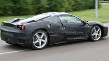 Ferrari F450 full body prototype spied again