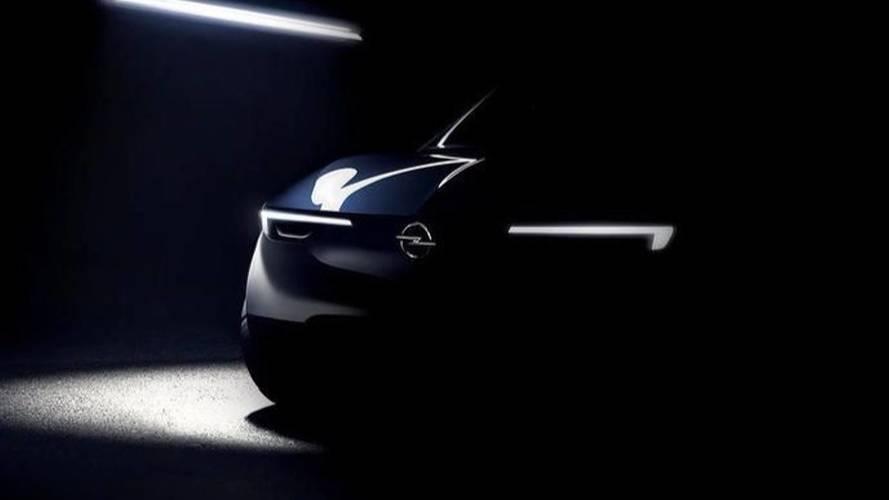 Le visage inédit d'une future Opel