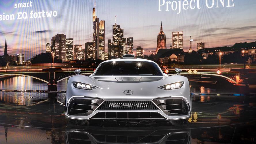 Mercedes-AMG Project One: nueva galería con fotos desde Frankfurt