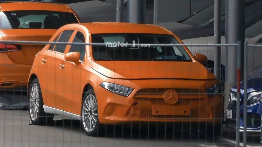 Szinte leplezetlenül látható a 2018-as Mercedes-Benz A-osztály