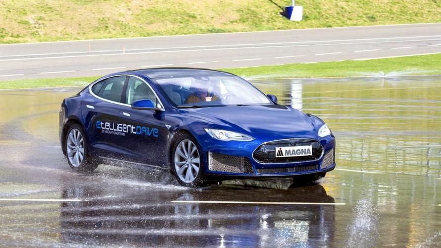 Tesla Model S Handles Better With Three Electric Motors