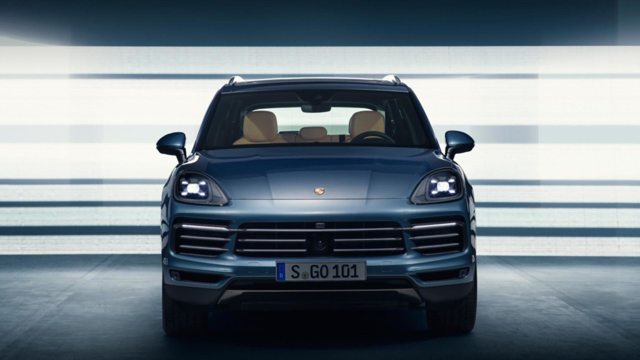 2018 Porsche Cayenne leaked official image