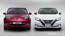 Nissan LEAF 2018 vs Nissan LEAF 2017