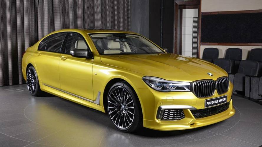 BMW M760Li Finished In Austin Yellow Demands Your Attention