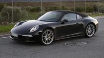 2013 Porsche 911 Targa spy photo 05.12.2012 / Automedia