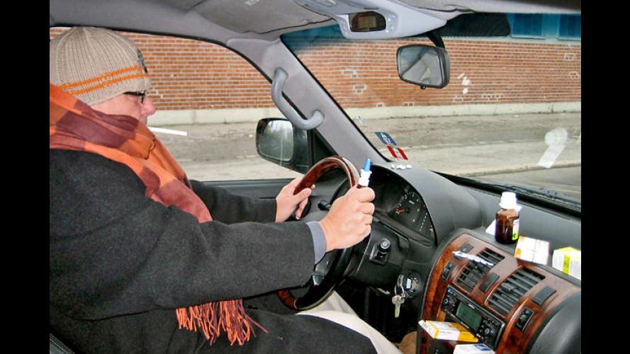 Medikamente am Steuer beeinträchtigen die Fahrtüchtigkeit