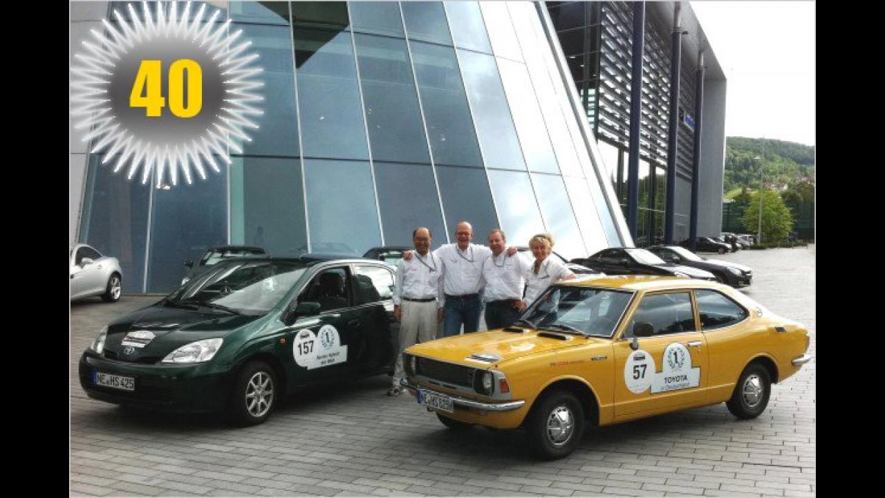 40 Jahre Toyota in Deutschland