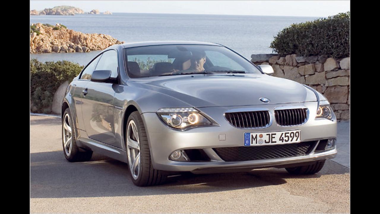 Oberklasse: 1. Platz: BMW 6er